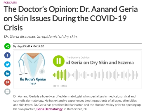 podcast eczema